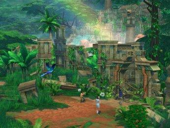 The Sims 4. Трейлер DLC Приключения в джунглях
