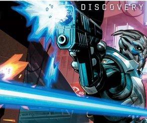 Первый взгляд на комикс Discovery по Mass Effect: Andromeda