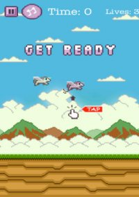 Adventure of Flappy Unicorn Flyer – фото обложки игры