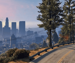 Карту GTA Vвырезали издерева: это работа пользователя Reddit