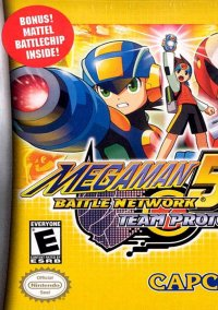 Mega Man Battle Network 5: Team Protoman – фото обложки игры