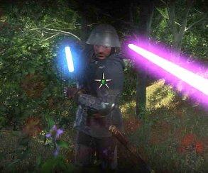 Как насчет световых мечей и Звезды Смерти в Kingdom Come: Deliverance? Просто скачайте этот мод!