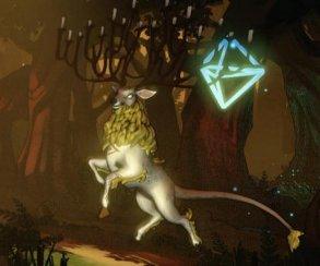 Олень отращивает рога канделябром в ролике Fantasia: Music Evolved