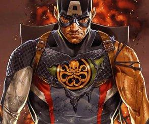 Капитан Америка раскроет свою злодейскую суть уже наэтой неделе
