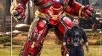 Фигурки пофильму «Мстители: Война Бесконечности»: Танос, Тор, Железный человек идругие герои. - Изображение 200