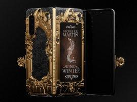 Samsung Galaxy Fold превратят вкнигу цикла «Песнь льда ипламени» и  подарят Джорджу Мартину