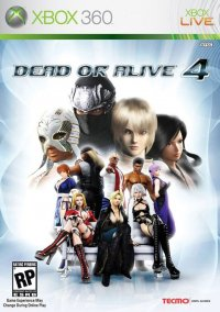 Dead or Alive 4 – фото обложки игры