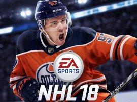 На обложке NHL 18 появится форвард «Эдмонтон Ойлерз» Коннор Макдэвид