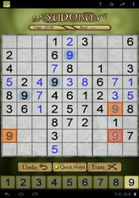 Sudoku Tablet – фото обложки игры