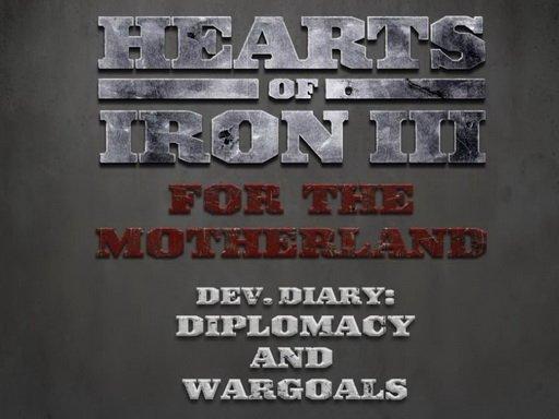 Hearts of Iron III: For the Motherland. Дневники разработчиков