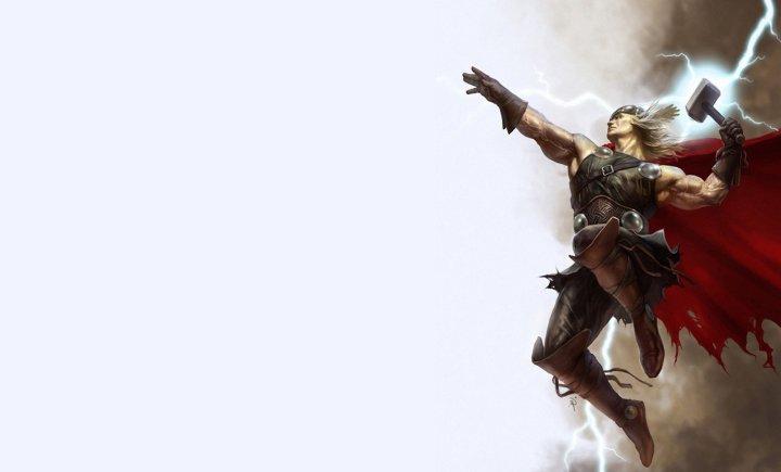 Тор выбивает дурь из Локи