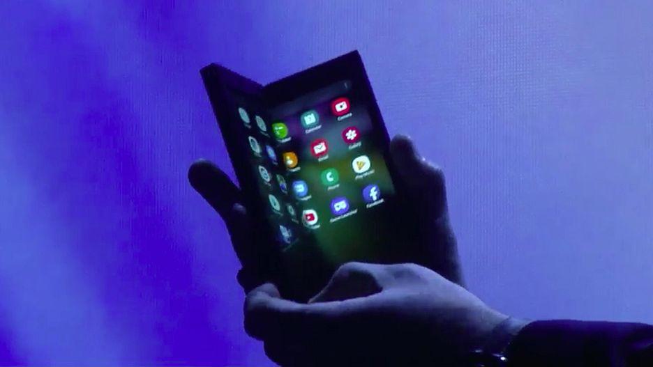 Изпланшета втелефон: Samsung представила смартфон соскладывающимся дисплеем | Канобу - Изображение 3