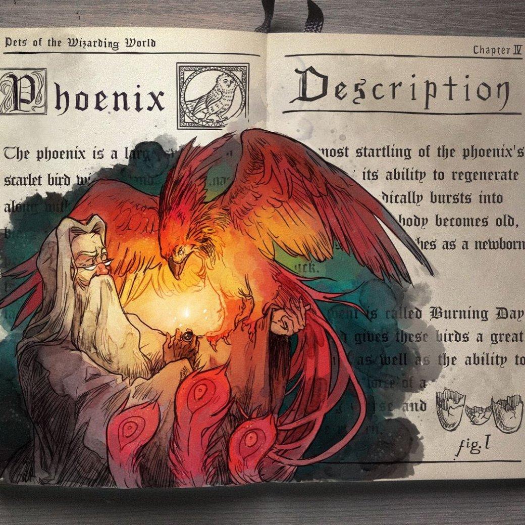 Художник нарисовал очень красивые иллюстрации по книгам о Гарри Поттере | Канобу - Изображение 4470