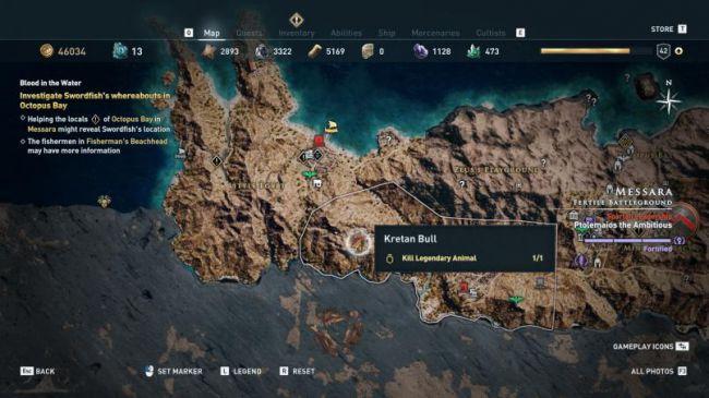 Гайд поAssassin's Creed: Odyssey. Где найти икак убить всех легендарных животных | Канобу - Изображение 4