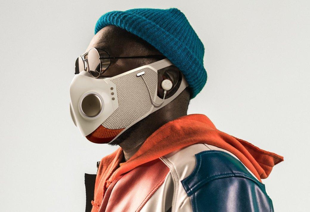 Will.i.am представил «умную» защитную маску сподключением ксмартфону | Канобу - Изображение 10423