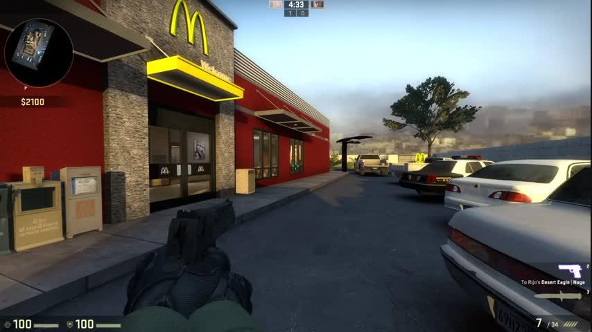 Вдатском «МакДональдсе» оформили меню встиле CS:GO | Канобу - Изображение 1