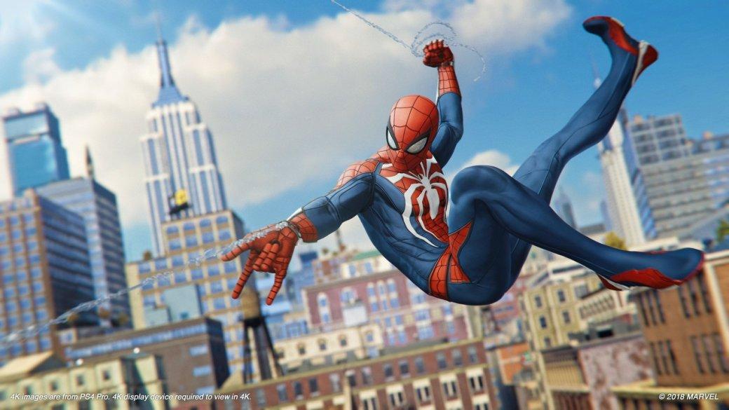 «Вынаверняка погрузитесь сголовой»: критики остались довольны демо Spider-Man, ноесть нюансы. - Изображение 4