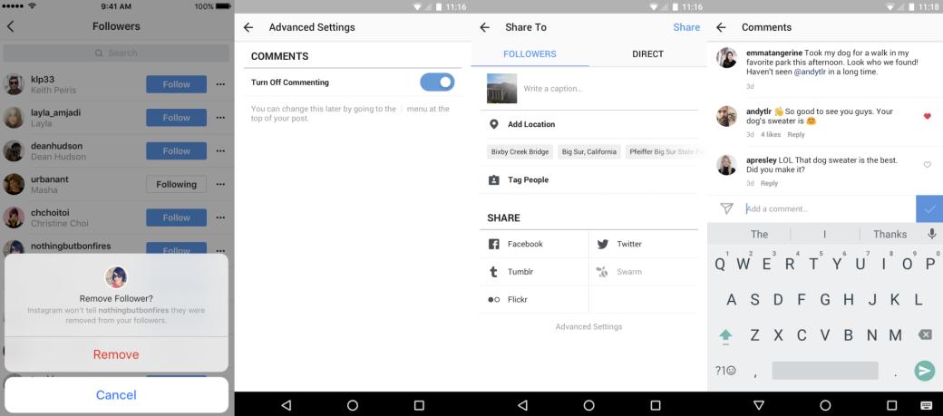 Новые инструменты Instagram для работы с комментариями и подписчиками | Канобу - Изображение 2698
