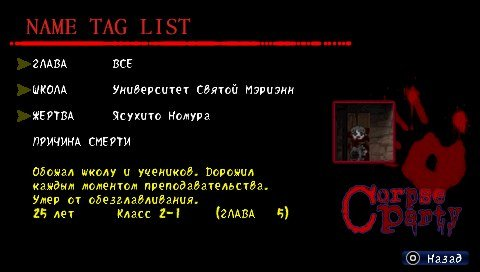 Corpse Party Blood Covered: Страх во плоти | Канобу - Изображение 6