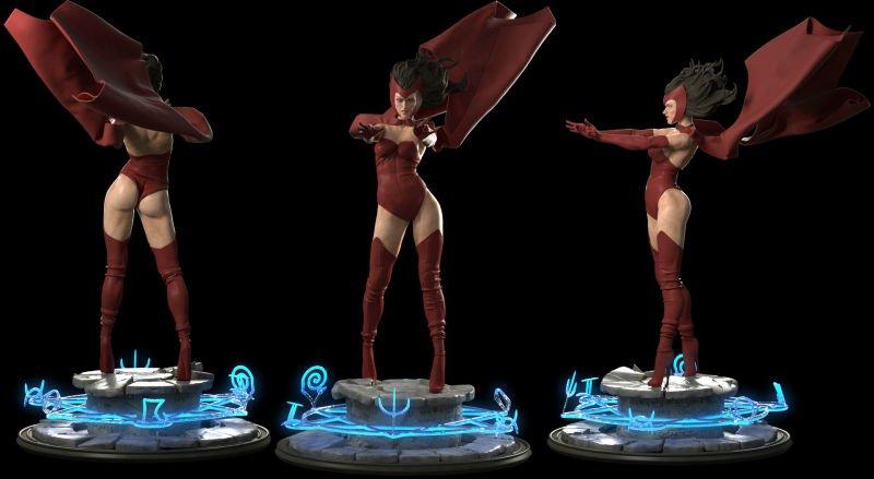 Взгляните наэти шикарные 3D-модели Росомахи, Ганса Ланды иМеган Фокс | Канобу - Изображение 6008