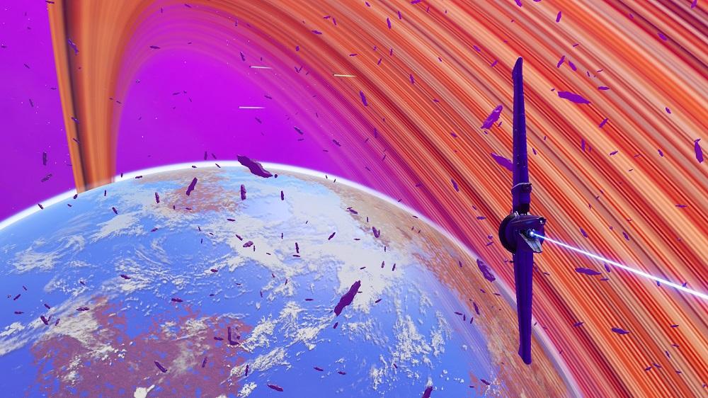 Устали смотреть на тусклые планеты в No Man's Sky? Тогда просто сделайте их кольца цветными!   Канобу - Изображение 7966
