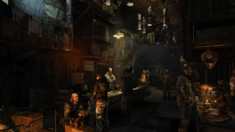 Как Metro 2033 иMetro: Last Light выглядят иработают наNintendo Switch | Канобу - Изображение 1060