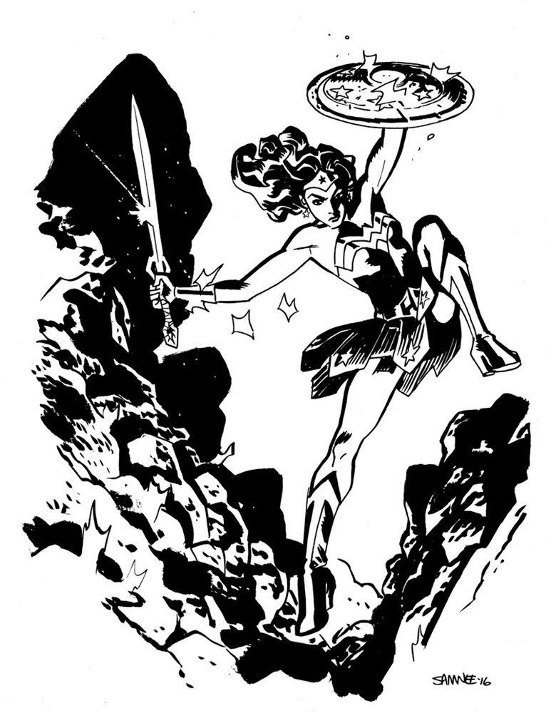 Супергерои Marvel и DC в рисунке Криса Сомни | Канобу - Изображение 8830