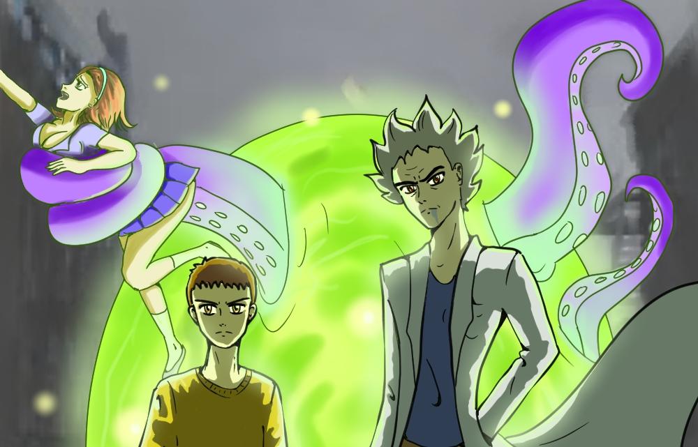 10 аниме вдухе «Рика иМорти»— от«ДжоДжо» до«Врат Штейна» | Канобу