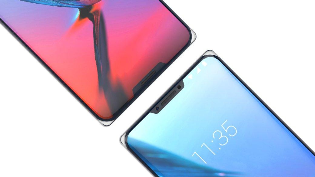 ZTE Iceberg — первый смартфон с двумя «челками» сразу. Как тебе такое, Apple?. - Изображение 2
