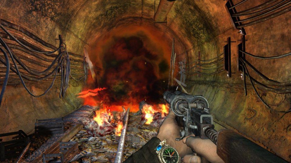 Как Metro 2033 иMetro: Last Light выглядят иработают наNintendo Switch | Канобу - Изображение 1059