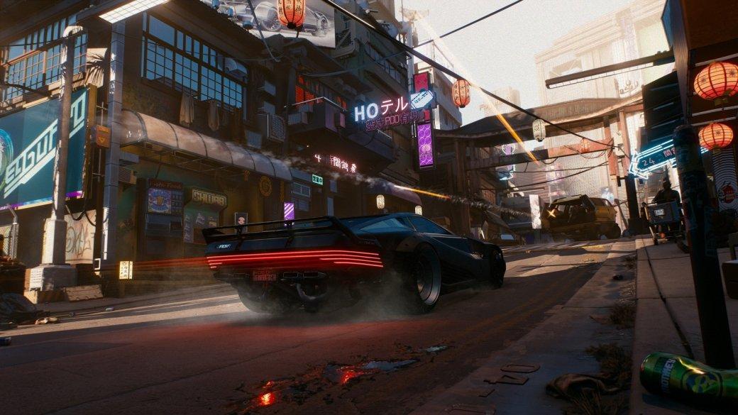 ВCyberpunk 2077 уигрока будет собственный гараж сразличными автомобилями имотоциклами | Канобу - Изображение 1