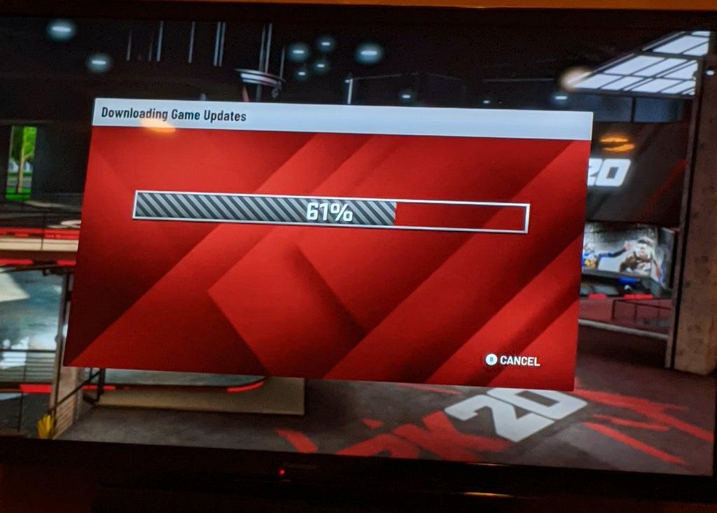 Геймеры увидели, как NBA 2K20 на Google Stadia загружает обновление — так быть не должно   Канобу - Изображение 0