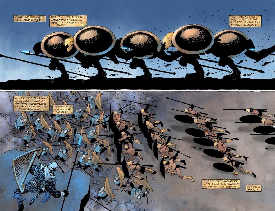 Что нетак с«Ксерксом» Фрэнка Миллера— сомнительным приквелом к«300 спартанцев» | Канобу - Изображение 9646