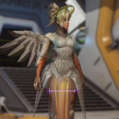 Бедра Ангела из Overwatch стали меньше. Это какая-то ошибка?. - Изображение 4