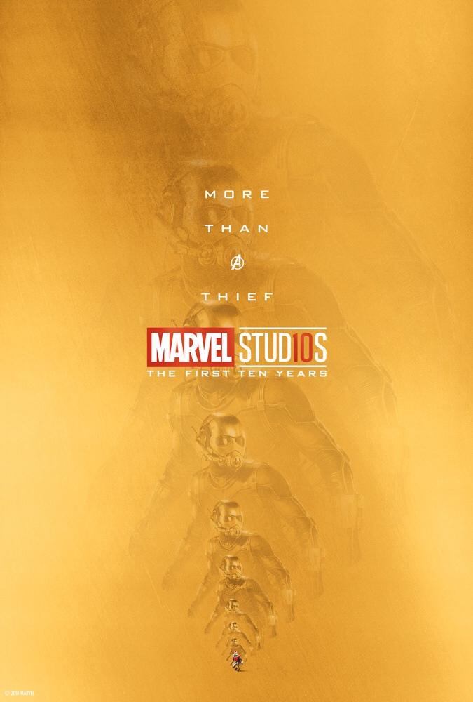 «Больше, чем легендарный преступник». ВСети появились новые юбилейные постеры Marvel Studios | Канобу - Изображение 16