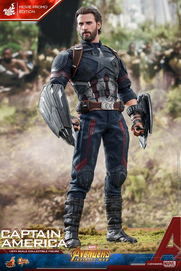 Взгляните нановую фигурку Капитана Америка из«Войны Бесконечности» отHot Toys. - Изображение 2