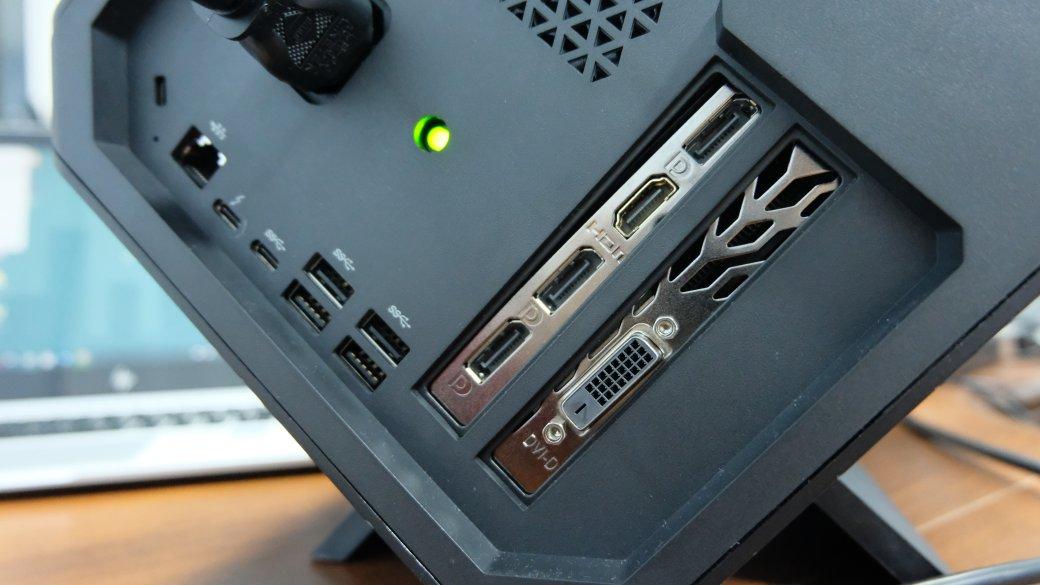 Обзор Omen Accelerator, внешний GPU, который превращает ноутбук в игровой ПК | Канобу - Изображение 14868