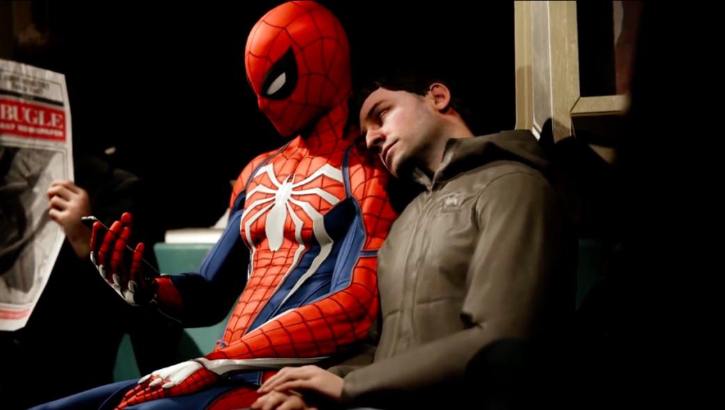 Гифка дня: супергеройское приземление вSpider-Man сPS4 | Канобу - Изображение 1