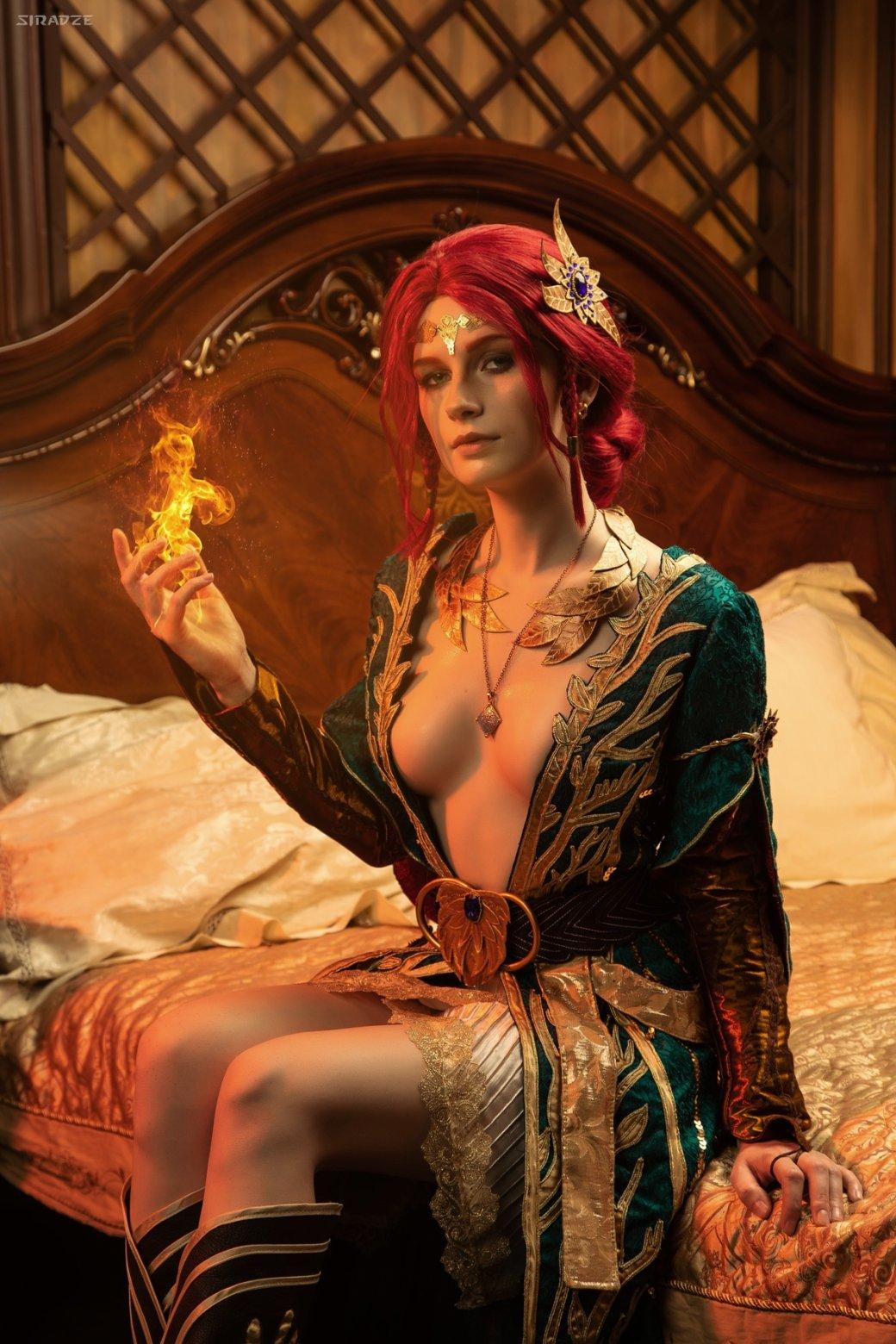 Отличный косплей чародейки Трисс Меригольд из«Ведьмака» | Канобу - Изображение 1160