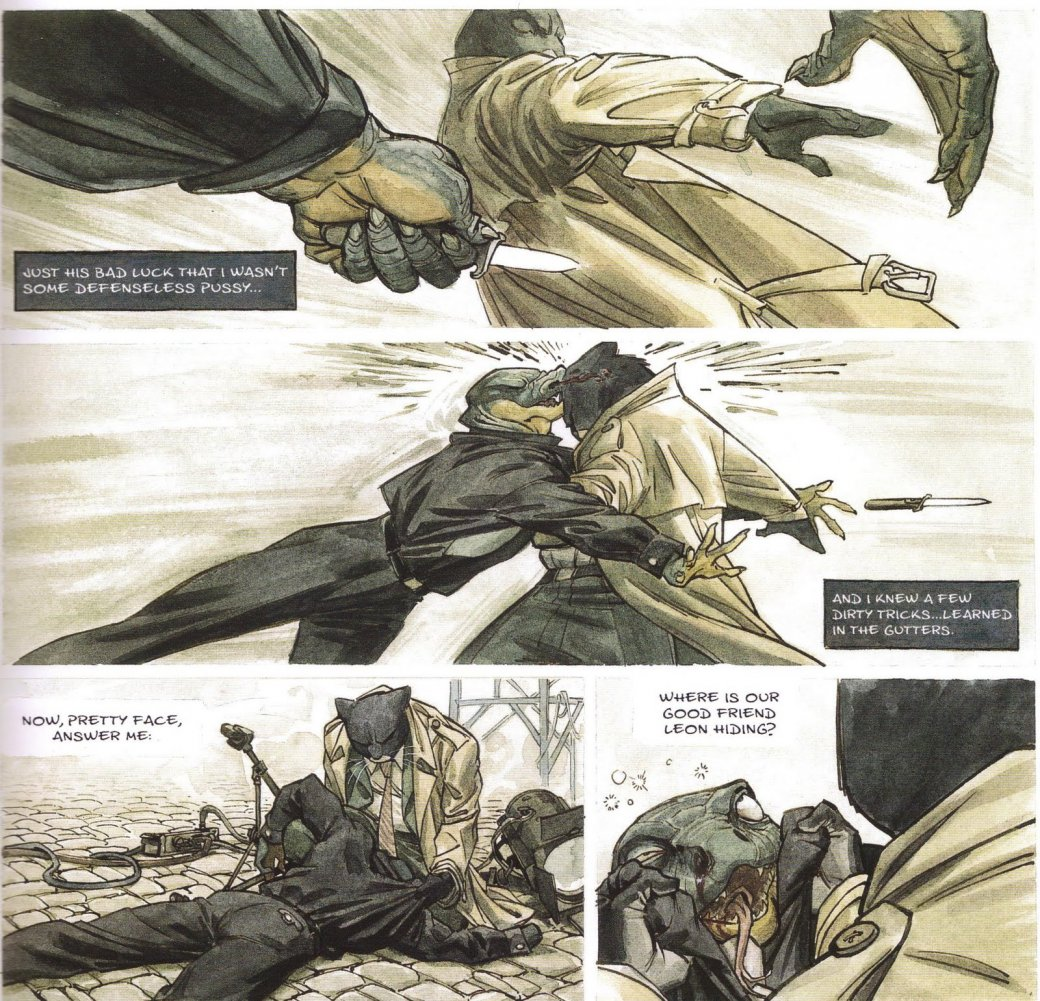 Комикс недели: Blacksad | Канобу - Изображение 2