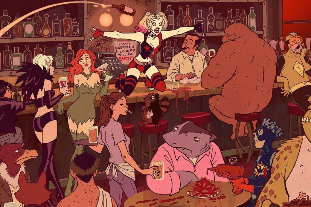 Харли Квинн представила свой грядущий мультсериал зажигательным тизером | Канобу - Изображение 1149