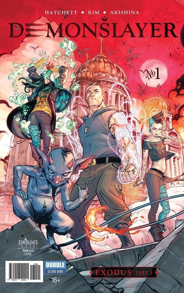 Художник «Черепашек-ниндзя» нарисовал обложки кновым комиксам Bubble   Канобу - Изображение 12221
