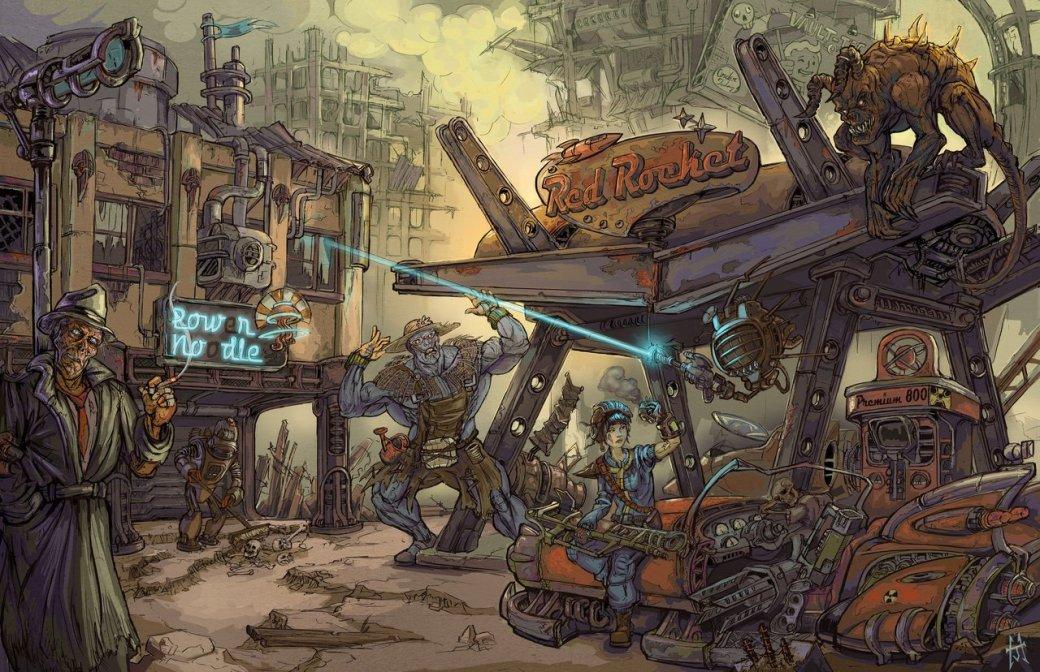 Лучший арт мира Fallout | Канобу - Изображение 64