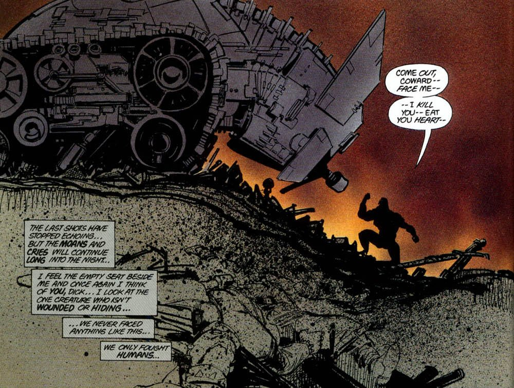 Зак Снайдер показал новый тизер «Лиги справедливости». Там танк Бэтмена