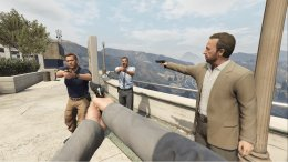 Моддер добавил вкат-сцены GTA Vрежим отпервого лица