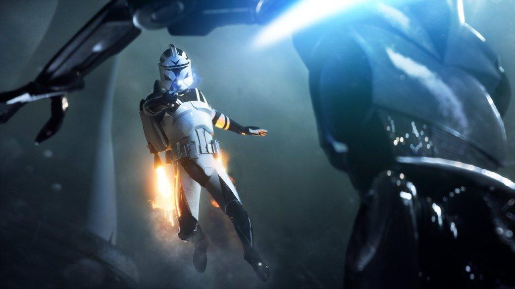 Невероятная графика Star Wars: Battlefront II(2017) в15-и гифках изоткрытой беты. - Изображение 1