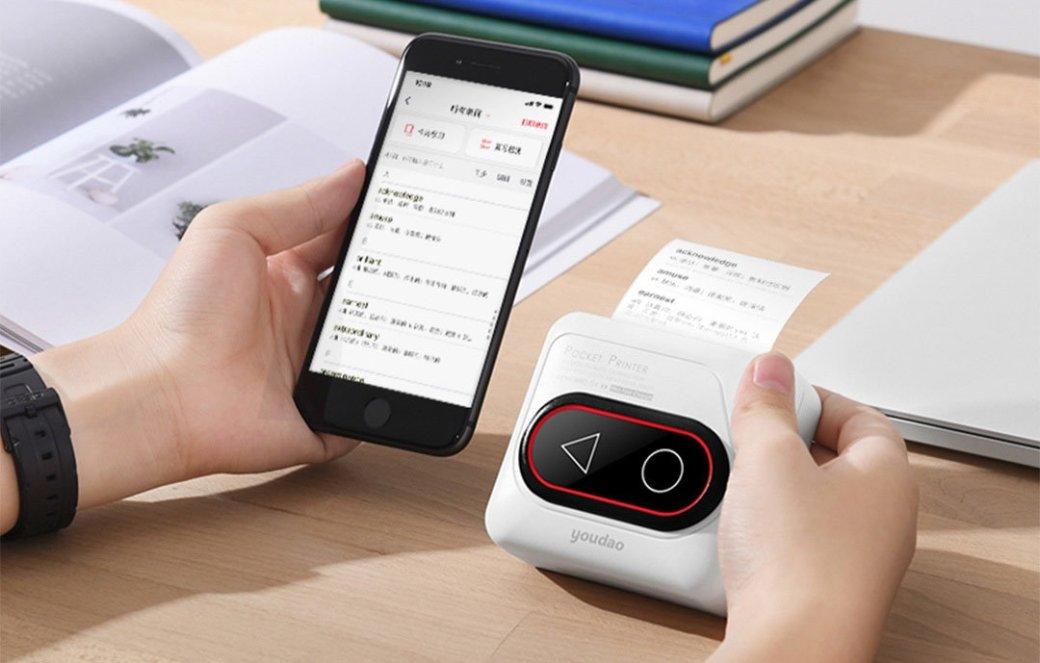 Xiaomi представила карманный принтер за2700 рублей   SE7EN.ws - Изображение 1