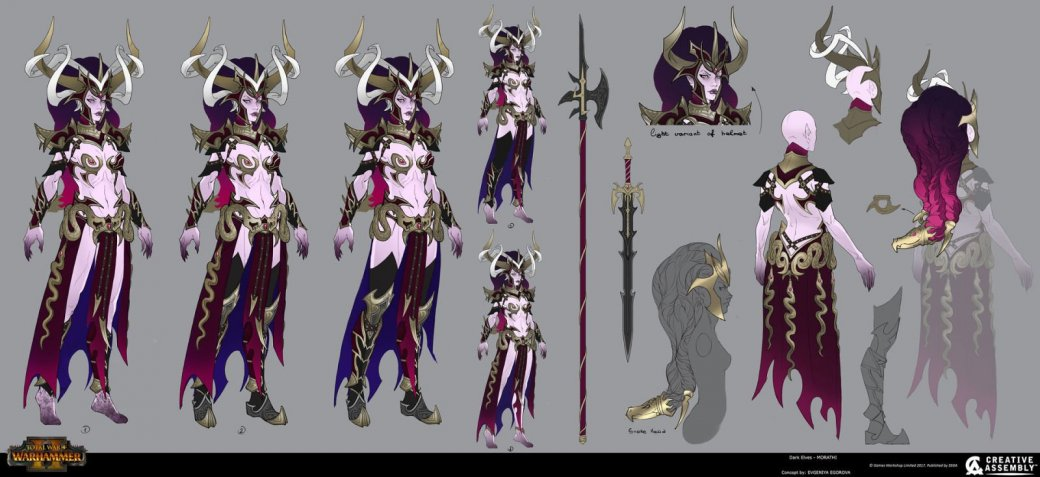 Взгляните напотрясающие концепт-арты Total War: Warhammer II. - Изображение 8
