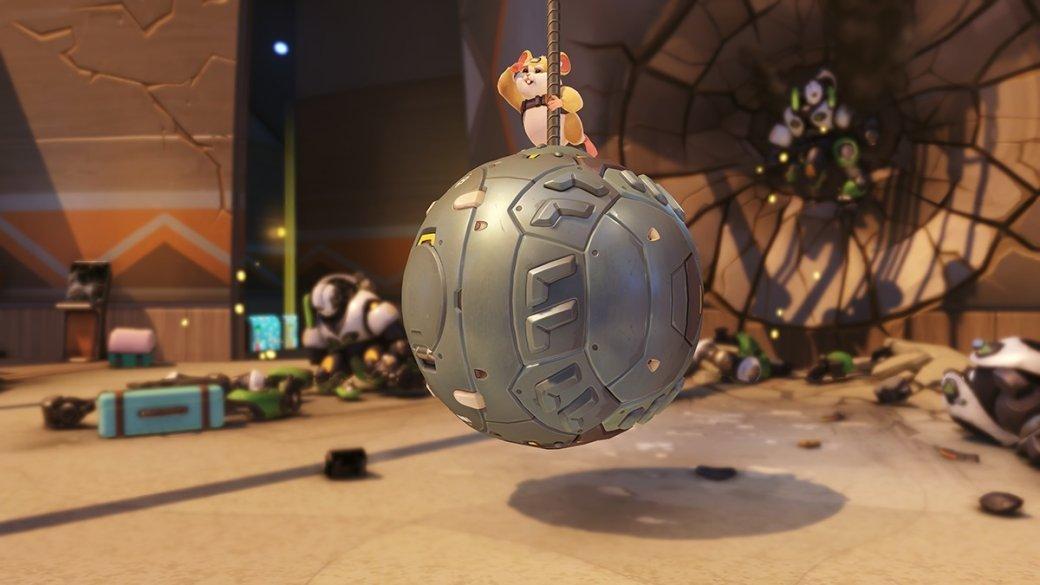 Благодаря новому герою-хомяку Overwatch превратилась вгоночный симулятор. - Изображение 1