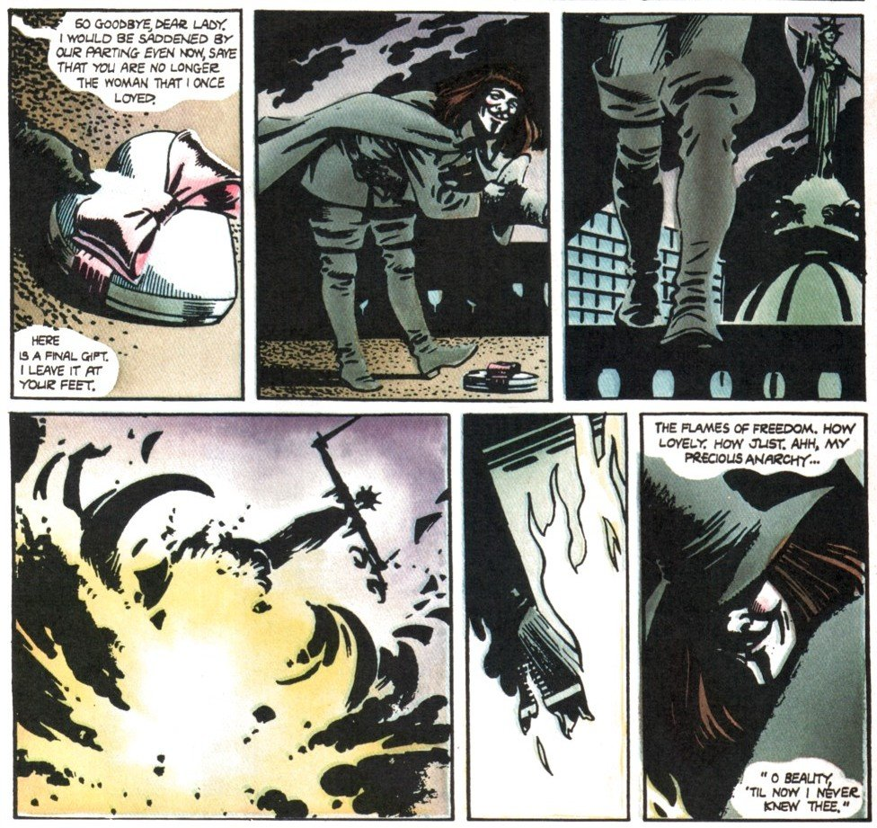 Комикс недели: V for Vendetta | Канобу - Изображение 1